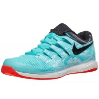 Nike Air Zoom Vapor X Blue/Red Sepatu Tenis/Tennis Shoes 2019 Original