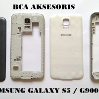 CASING SAMSUNG GALAXY S5 G900 HOUSING FULLSET ORIGINAL aksesoris tabl