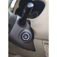 star stop engine button keyless entry smart key with Rfid immobilizer