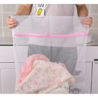 Washing Bag Laundry SUPER 50x60 Fine Mesh Kantong Cuci Jaring
