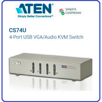 ATEN CS74U 4-Port USB VGA/Audio KVM Switch