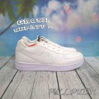 Sepatu Nike Airforce 1 One Wanita Women Untuk Cewe Murah Grosir Putih