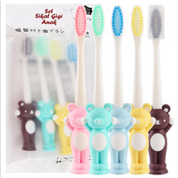 Set Sikat Gigi Anak BEAR ( 1 set isi 4 pcs sikat gigi warna berbeda)