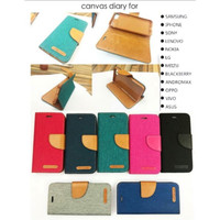 CANVAS DIARY GRANDPRIME Flip Case Samsung Grand Prime G530H Book Cover