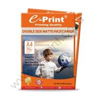 Eprint Kertas Foto Double Side Matte Inkjet Paper A4 220gsm