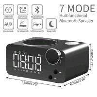 Speaker Bluetooth COKIKE JBL BOSE Radio FM Jam Meja Digital S2