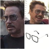 Frame Kacamata Kotak Model Tony Stark