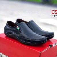 sepatu casual kickers knop mocasin slop formal sepatu santai