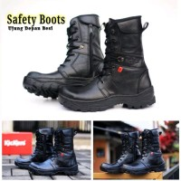 sepatu delta boots safety ujung besi tracking proyek grosir pdh pdl