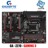 Motherboard LGA 1151 GIGABYTE GA-z270-GAMING 3 Intel Z270 ATX