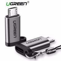 Ugreen USB C female To micro Usb Male Adapter Gray-50590