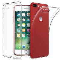 Slim TPU Case iPhone 7 Plus - 8 Plus - Casing Cover Soft Clear