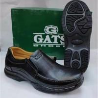 Sepatu Kulit Gats Mp 2605 Black.Ogirinal Gats Pria - 38 Jaminan Ori