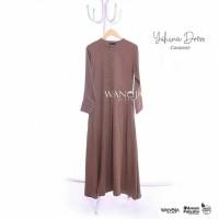 Gamis Yuhina by Wanoja - Gamis Madinah Cotton Polos Busui Murah
