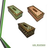 Handmate Kotak Tisu Bambu