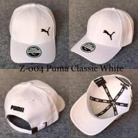 TOPI PUMA CLASSIC WHITE