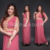 New Daster Arab Fulla by Dlusia Original / Baju Wanita / Baju Tidur
