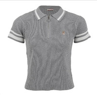 Hush Puppies - Ezra - Polo Shirt In Grey