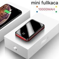 Power bank 10000Mah MINI Tipis Fullkaca Digital LED