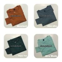 MH Kaos Panjang Polos / Atasan Wanita