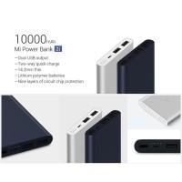 ORIGINAL POWER BANK XIAOMI 10000mAh 2 USB PORT MI PRO 2i FAST CHARGING