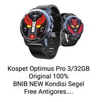 Kospet Optimus Pro 3/32GB 4G LTE Dual OS Smartwatch Phone Android 7.1