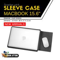 Sleeve Case Kulit Laptop Ultrabook 15.6 Inch / cover laptop
