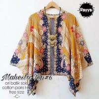 Atasan blouse mahestri yellow