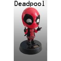 Boneka Dashboard Mobil Avengers Deadpool Kepala Goyang