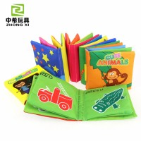 Baby Animal Cloth Book English Early Education Books