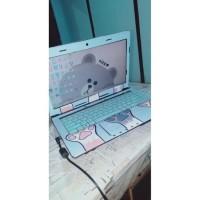 Real Pict Original Garskin Laptop Full Body Asus A43S - Free Custom
