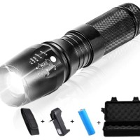 Senter TaffLED LED Cree XML-T6 3000 Lumens + Baterai + Charge