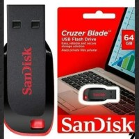 Flashdisk Sandisk 64GB Original - Garansi 5 tahun - Official Store