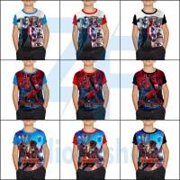 Kaos Anak Laki-Laki / Baju Anak Laki Superhero 1-12th RANDOW/ACAK