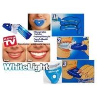 pemutih gigi secara cepat dan aman / pemutih plak gigi / whitelight te