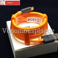 Kabel Data OnePlus 7 6T 6 USB - C WARP Dash Charge McLaren Edition ORI