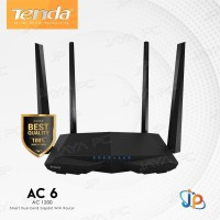 Tenda AC6 AC1200 Smart Dual-Band WiFi Wireless Network Router Extender