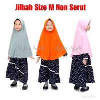 Mylaa Hijab Jilbab Instan Anak Sekolah Non serut bahan Kaos PE Size M