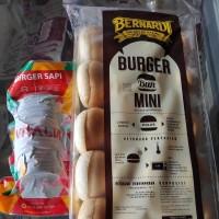 paket Roti burger bernardi mini isi 20pcs