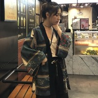 Cardigan Kimono Lengan Panjang Jepang Bikini Outer Murah Blazer Wanita