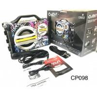 Speaker Portable JAVI CB 002 Karaoke + Mic