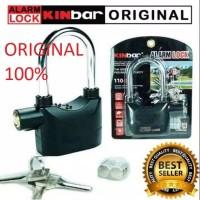 Gembok Alarm & alarm Lock & alarm Anti Maling & Kunci Cakram Motor