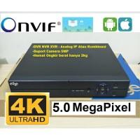 DVR EDGE 8CH P6SPRO Kamera CCTV 5MP Garansi Resmi 1 Tahun
