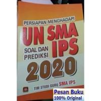Buku Persiapan Menghadapi UN SMA IPS Soal Dan Prediksi 2020