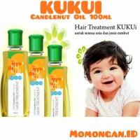 Minyak Kemiri Kukui Candlenut Oil 100ml Penyubur Rambut Bayi Anak