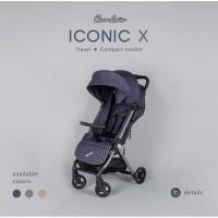 Stroler Cocolatte Iconic X Stroller Lipat Koper Kereta Dorong Bayi