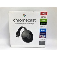 Dongle Google Chromecast Chrome Cast 4K Wireless or Wi-Fi