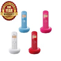 Telepon Wireless Panasonic KX-TGB210 / KX - TGB 210 / TGB210 Colour - Merah Muda