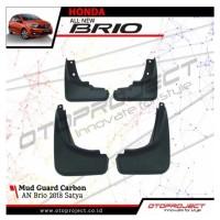 Mud Guard All New Brio 2018 Satya Black Carbon