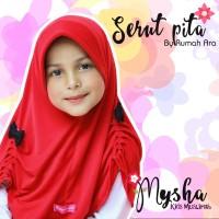 Jilbab Anak Perempuan Rumah Ara Serut Pita Usia 0-6 tahun